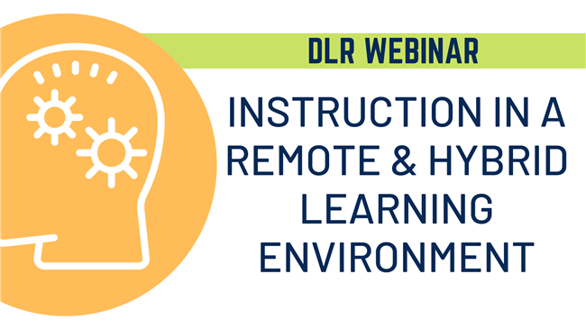 Instruction Webinar