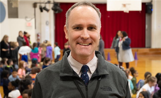 Club Blvd Elementary Assistant Principal Named NC Elementary AP of the Year